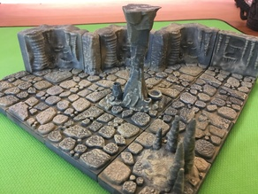 Cavern Pillar Column (Openforge 2.0 compatible)