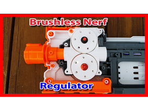Nerf Regulator (UltraRegulator) Brushless Cage