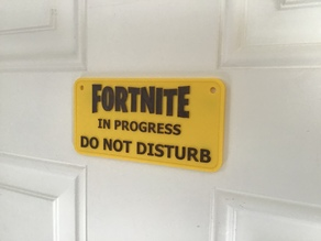 Fortnite Sign