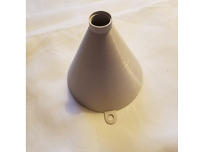 Funnel with soda bottle thread