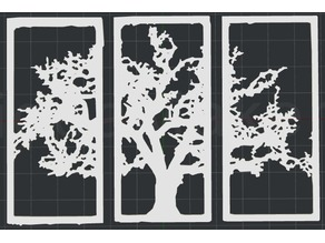 Tree 2D Wall Art V3