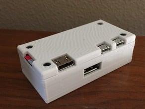 Pi Zero + 4-USB HAT Case