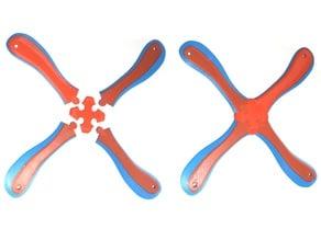 Modular Boomerang, four-bladed