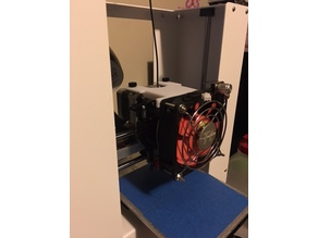 Printrbot Play 80mm Fan Shroud