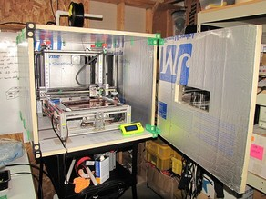 Thermal Enclosure For 3D Printer