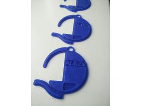A.L.S.Z.V. De Blauwe Schuit Sleutelhanger