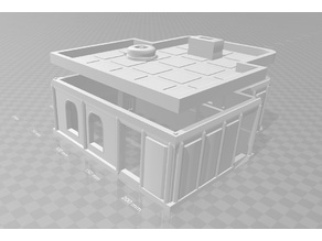 Building Two Officers Building/ Generic Small Building