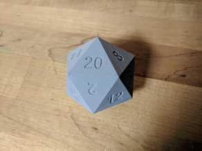 """d20 - 2"""" width"""