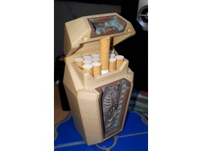 cigarette case coffin