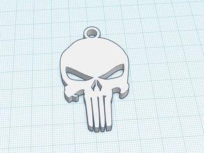 Schlüsselanhänger Punisher