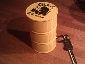 Coffee Container Drum Barrel