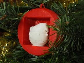 mouse christmas ball - Boule de noël sourie