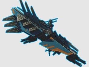 Planetary annihilation titans_Orbital battleship.