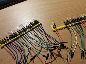 Arduino cables organizer