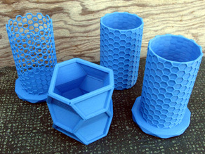 Nanotube Based Containers