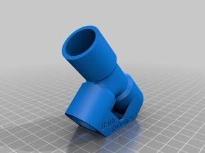 T-Piece Ø22mm PVC Pipe - V3- OPTIMISED