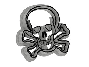 Skull - Cookie Cutter
