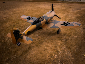 rc plane fockewulf-ww2-german-aircraft