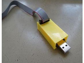 USBAsp Case easy printable no screws