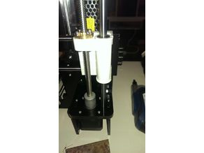 Anet A8 x belt tensioner with knob