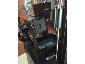 Wanhao D7 drip stand easy FDM print.