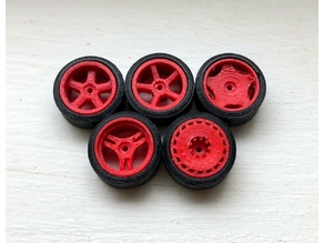 1:64 Wheels 01-05 Revisited (Size Large)