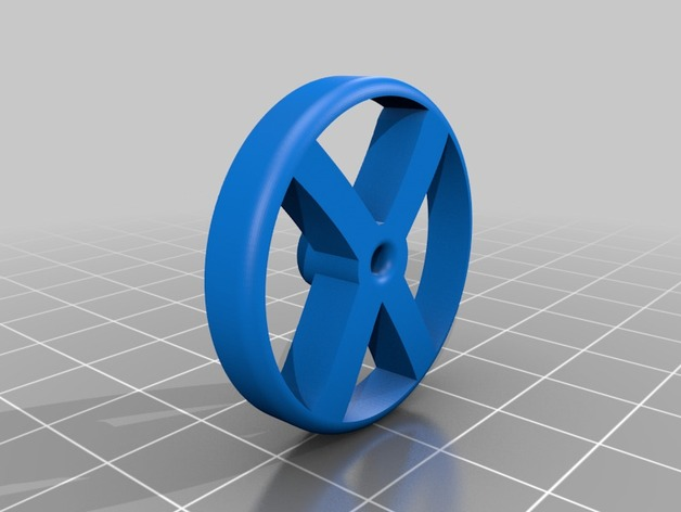 X Derby Official 3d Printed Wheel By Isitus Thingiverse