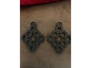 Custom Gear Earrings