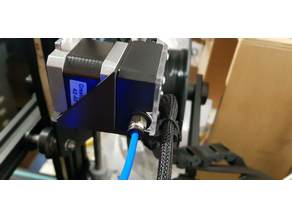Titan Extruder Mount with Cable Holder for Ender 3