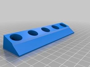 Color Holder for Large 22ML Tubes