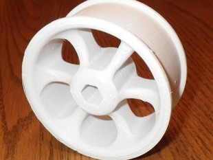 """Mag"" wheel for FRC robot"