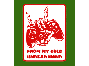 From My Cold Undead Hand, sign