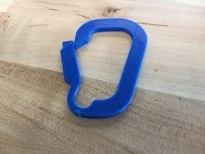 Flexible Carabiner