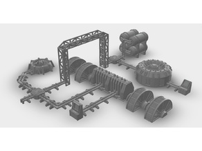 Warhammer 40k Terrain: Pipelines