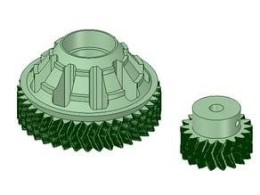 FilaWinder 18/38 Drive Gears