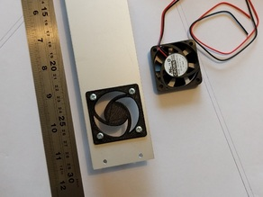 40mm Fan Cover / Panel Mount