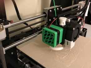 Extruder Fan Removable Assembly