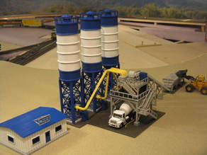 HO Scale Concrete Factory