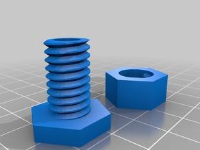 Screwless Filament Feeder - 6mm PTFE