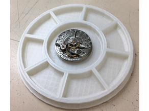 Multi Compartment Tray with Lid, Watch Repair Tool
