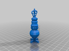 censer pile on - low poly