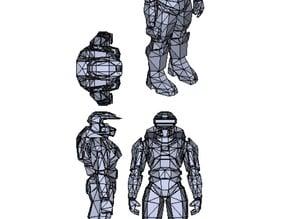 SPARTAN 117 Armour*(Mjolnir Mk_ V)