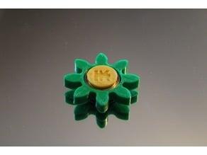 Gear/Flower Spinner