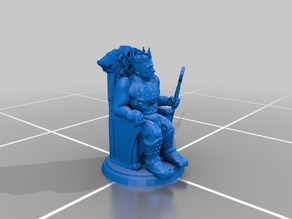 King - RPG Miniature