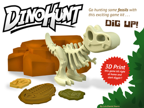 Dino-Hunt Fossil Digging Game