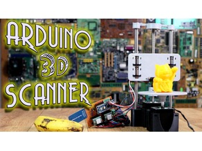 3D IR scanner with Arduino