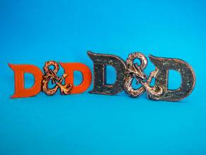 D&D 3D logo (Dungeons & Dragons)