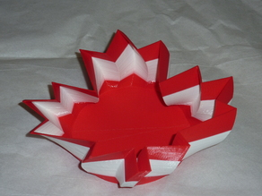 Canadian Maple Leaf and Michigan