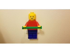 Minifig TP Holder - Updated Rod