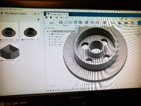 Anycubic i3 Mega HatchBox Spool Adaptor